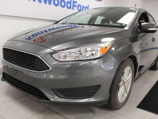 Used 2018 Ford Focus SE FWD hatch with heated seats heated steering wheel and a back up cam for sale in Edmonton, AB