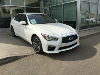 Used 2014 Infiniti Q50 SPORT PREMIUM/ALL WHEEL DRIVE/NAVIGATION/HEATED SEATS/BACK UP CAMERA for sale in Edmonton, AB