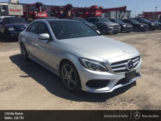 Used 2015 Mercedes-Benz C-Class 4matic Gar. Awd for sale in Quebec, QC