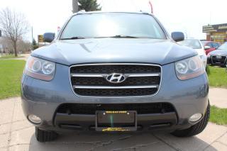 Used 2007 Hyundai Santa Fe RARE!! 7 SEATER! 3.3L 4WD/LEATHER/SUNROOF for sale in Oakville, ON