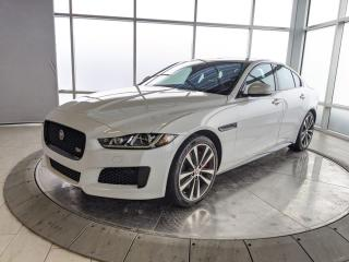 New 2018 Jaguar XE ACTIVE COURTESY VEHICLE for sale in Edmonton, AB
