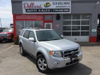 Used 2011 Ford Escape LIMITED V6 4X4 LEATHER+SUNROOF for sale in London, ON