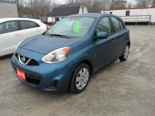 Used 2015 Nissan Micra SV 1.6 for sale in Beaverton, ON