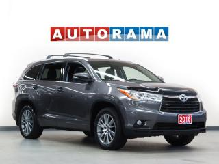 Used 2016 Toyota Highlander XLE NAVI BACKUP CAM LEATHER SUNROOF 7 PASS 4WD for sale in North York, ON