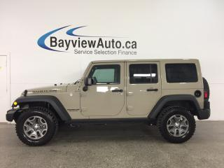 Used 2017 Jeep Wrangler Unlimited Rubicon - BFG'S! REM START! HTD STS! NAV! U-CONNECT! for sale in Belleville, ON