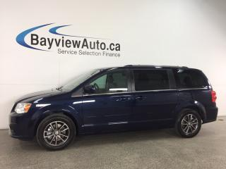 Used 2017 Dodge Grand Caravan - HTD LTHR! DVD! NAV! REV CAM! PWR LIFTGATE! for sale in Belleville, ON