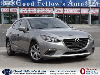 Used 2014 Mazda MAZDA3 GX MODEL, KEYLESS ENTRY, POWER WINDOWS for sale in North York, ON