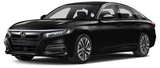 New 2018 Honda Accord Hybrid Base Sedan CVT for sale in Pickering, ON