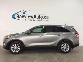 Used 2018 Kia Sorento 2.4L LX - HEATED SEATS! A/C! REVERSE CAM! BLUETOOTH! CRUISE! for sale in Belleville, ON