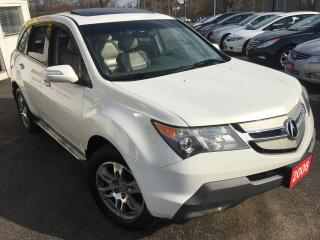 Used 2008 Acura MDX Tech pkg/NAVI/BACKUPCAMERA/SUNROOF/ALLOYS/AWD!! for sale in Scarborough, ON