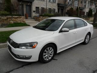 Used 2013 Volkswagen Passat TDI, AUTO, NO ACCIDENTS, LOW KMS for sale in Etobicoke, ON
