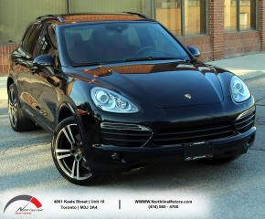 Used 2014 Porsche Cayenne S | Navigation|Pano Roof|BackUp Camera for sale in North York, ON