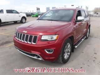 Used 2014 Jeep GRAND CHEROKEE OVERLAND 4D UTILITY 4WD 3.0L for sale in Calgary, AB
