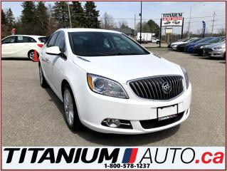 Used 2014 Buick Verano Camera+Heated Leather+Blind Spot & Cross Traffic++ for sale in London, ON