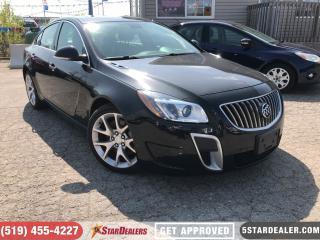 Used 2013 Buick Regal GS | NAV | LEATHER | ROOF for sale in London, ON