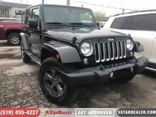 Used 2018 Jeep Wrangler Unlimited Sahara | 4X4 | NAV | SAT RADIO for sale in London, ON