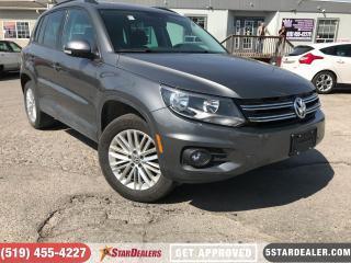 Used 2016 Volkswagen Tiguan Comfortline | AWD | HEATED SEATS for sale in London, ON