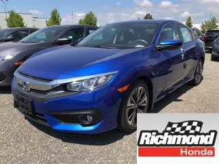 New 2018 Honda Civic EX-T for sale in Richmond, BC