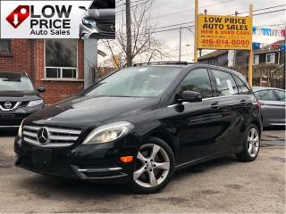 Used 2014 Mercedes-Benz B-Class Navi*BlindSpot*Camera*PanoramicRoof*MBWarranty* for sale in York, ON