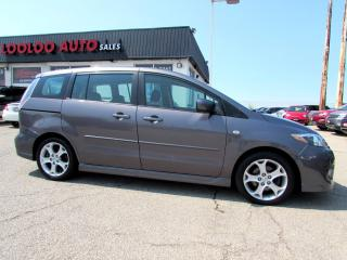 Used 2008 Mazda MAZDA5 Grand Touring 6 Passenger Certified 2YR Warranty for sale in Milton, ON