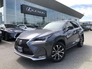 Used 2016 Lexus NX 200t F SPORT SERIES 2 PACKAGE SUMMER SPECIAL 6A for sale in Surrey, BC