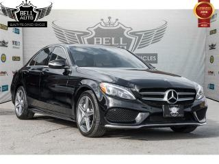 Used 2015 Mercedes-Benz C 300 4MATIC AMG PKG PARKTRONIC NAVI PANO SUNROOF LEATHER for sale in Toronto, ON