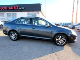 Used 2006 Volkswagen New Jetta 2.5L LEATHER SUNROOF CERTIFIED 2YR WARRANTY for sale in Milton, ON