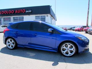 Used 2014 Ford Focus ST NAVIGATION BLUETOOTH CERTIFIED 2YR WARRANTY for sale in Milton, ON