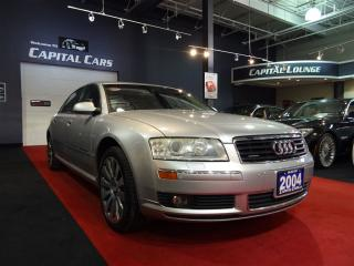 Used 2004 Audi A8 L 4.2L QUATTRO / NAVIGATION / BACK UP CAMERA for sale in North York, ON