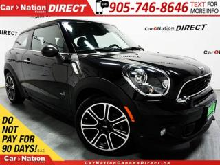 Used 2014 MINI COOPER Paceman Cooper S| LEATHER| NAVI| DUAL SUNROOF| AWD| for sale in Burlington, ON