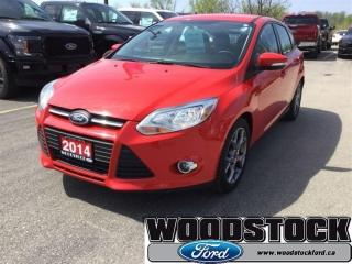 Used 2014 Ford Focus SE Winter PKG, Heated Seats, 17 Wheels for sale in Woodstock, ON