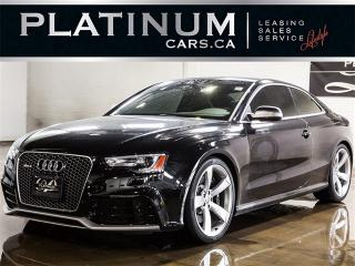 Used 2015 Audi RS5 4.2 QUATTRO, 450HP, NAVI, BANG&OLUFSEN for sale in North York, ON