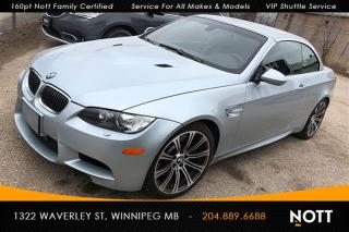 Used 2009 BMW M3 Cabriolet DCT Summer Driven, N for sale in Winnipeg, MB