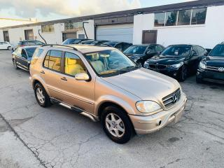 Used 2003 Mercedes-Benz ML-Class AMG PACKAGE | CLEAN SUV for sale in Burlington, ON