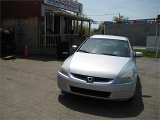 Used 2005 Honda Accord Sdn LX-G for sale in Cambridge, ON