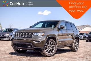 Used 2017 Jeep Grand Cherokee Limited 75th Anniversary|Navi|Pano Sunroof|4x4|Backup Cam|Bluetooth|20