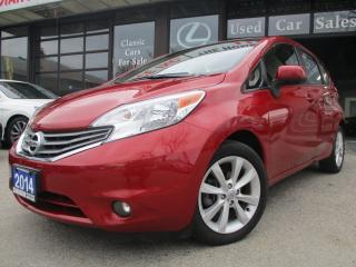 Used 2014 Nissan Versa Note 1.6 SL-SL-NAVIGATION-CAMERA-BLUETOOTH-HEATED SEAT for sale in Scarborough, ON