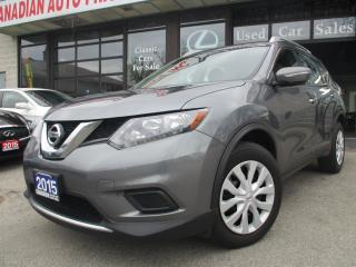 Used 2015 Nissan Rogue BACK-UP CAMERA-BLUETOOTH-ACCIDENT FREE for sale in Scarborough, ON