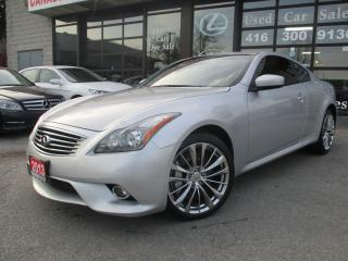 Used 2013 Infiniti G37X  COUPE SPORT NAV-AWD-TECK-PKG-LOADED for sale in Scarborough, ON