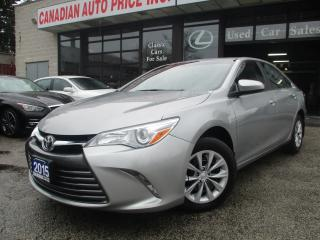 Used 2015 Toyota Camry LE-BACK-UP CAMERA-BLUETOOTH for sale in Scarborough, ON