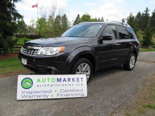 Used 2012 Subaru Forester MOONROOF, AWD, NAVI, BLUETOOTH, INSP, WARR for sale in Surrey, BC