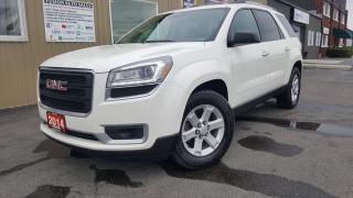 Used 2014 GMC Acadia SLE2--SUNROOF-BACK UP CAMERA-PWR LIFTGATE for sale in Tilbury, ON