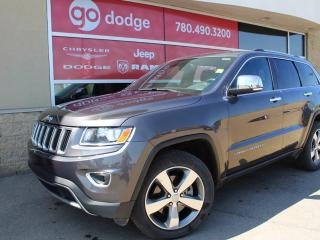 Used 2015 Jeep Grand Cherokee LIMITED 4X4 for sale in Edmonton, AB