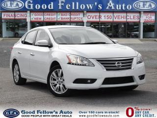 Used 2013 Nissan Sentra SL MODEL,LEATHER SEATS, SUNROOF, NAVI for sale in North York, ON