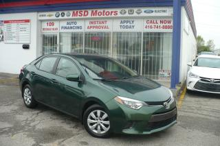 Used 2015 Toyota Corolla LE HEATED SEATS, BACK UP CAMERA for sale in Etobicoke, ON
