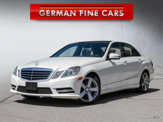 Used 2013 Mercedes-Benz E350 **4MATIC, NAVIGATION, BACK UP CAM, BLUETOOTH** for sale in Caledon, ON