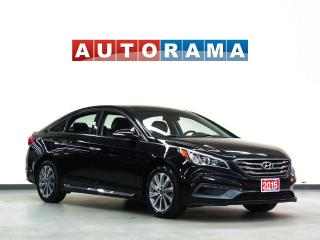 Used 2015 Hyundai Sonata SPORT LEATHER BACKUP CAMERA SUNROOF ALLOY WHEELS for sale in North York, ON