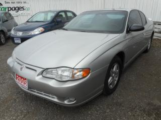 Used 2005 Chevrolet Monte Carlo for sale in Brantford, ON