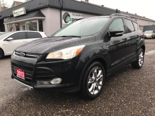 Used 2013 Ford Escape SEL for sale in Bloomingdale, ON