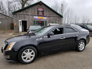 Used 2008 Cadillac CTS w/1SB, Sunroof, Leather, Heated Seats, DualClimate for sale in Cambridge, ON